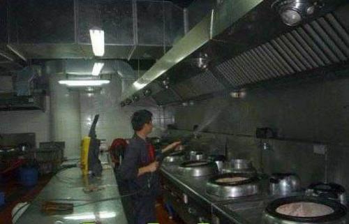 专业东莞饭堂油烟机清洗抽油烟罩