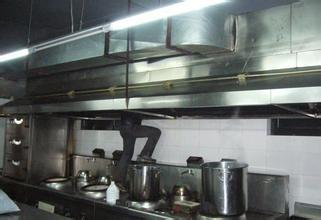东莞的饭堂抽油烟机排烟管油污清洗
