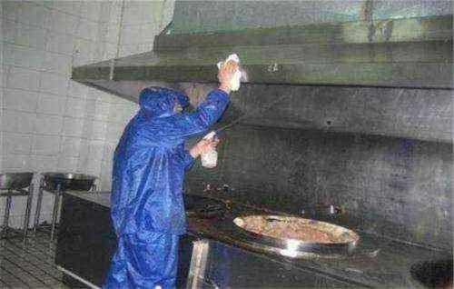 东莞饭堂油烟机排烟管清洗